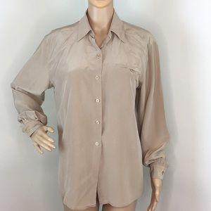 777c5fd1bcd81 Saks Fifth Avenue 100% silk blouse